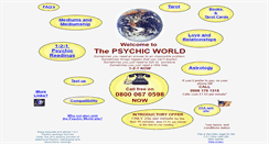 Preview of 121psychics.co.uk